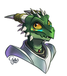 Commission bust by GalooGameLady