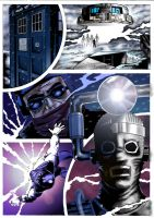 Tenth Planet Coloured Page by westleyjsmith