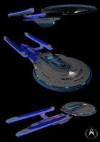 U.S.S. Dauntless NCC-10758 by calamitySi