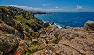 Cornish cliffs 1 by forgottenson1