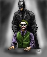 The Dark knight interrogation by dartbaston