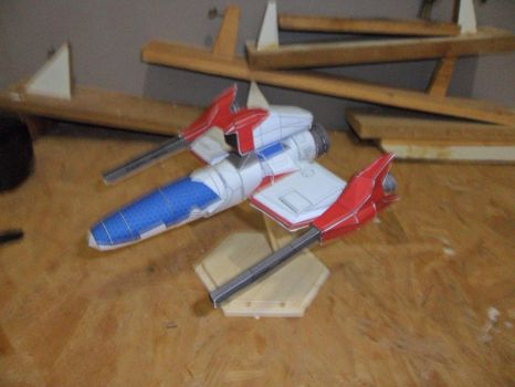 Thunder Force 4, paper model by tulioroberto