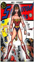 Classic Wonder Woman by RWhitney75