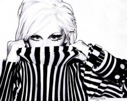 Xtina in Stripes by Skissored