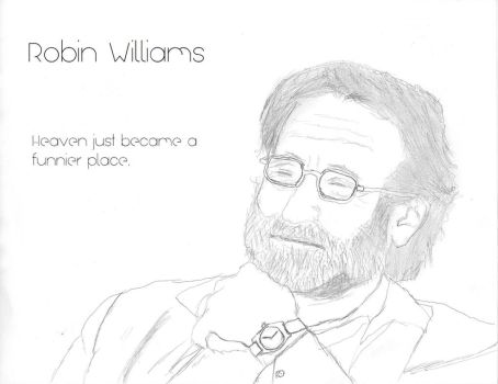 Robin Williams by omegaomegacyborg