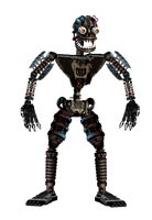 Nightmare Endoskeleton by DaHooplerzMan