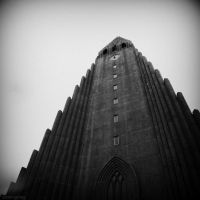Iceland Tower by lostknightkg