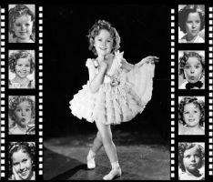 Shirley Temple Filmstrip by Mistify24