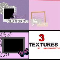 3 TEXTURES by Smileygotstyle