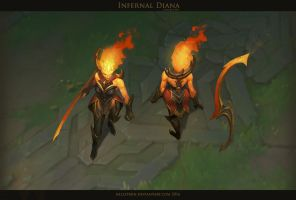 Infernal Diana by Hellstern