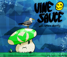 Vinesauce Seagull BRB [gif] by NegitiveX