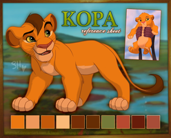 Kopa Reference Sheet by ShimiArt