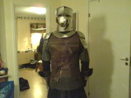Robert in Armour II by Noctiped