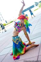 Otakon 2015 - Belly Dasher(PS) 23 by VideoGameStupid