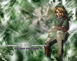 Link - Legend of Zelda : TP by RaigaSpiffy
