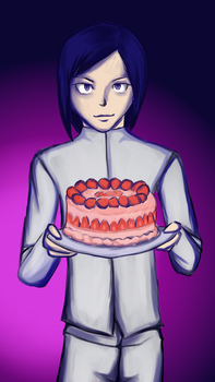 Birthday Gift - Ken from Digimon by LinLin-Senpai