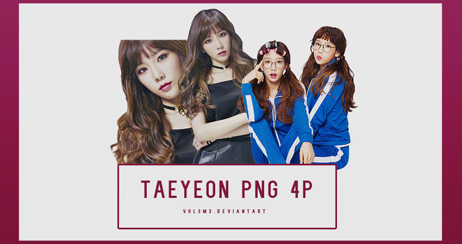 TaeYeon Sword and Magic for Kakao 4P PNG by vul3m3