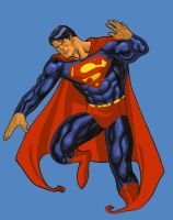 superman color by CHUBETO