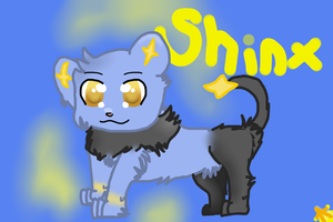 Shinx by KatWolfKid