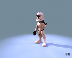 Clone Trooper by abr4xas