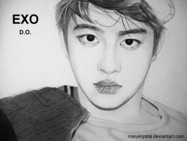 D.O. (DO KYUNG SOO) #2 of EXO by marykrystal