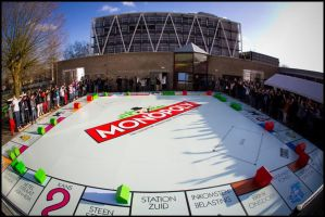 Biggest Monopoly PlayBoard Made By Our School by TickingGears