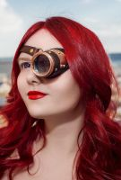 Steampunk monocle by Tvirinum