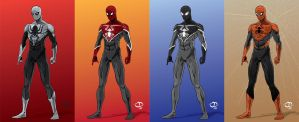 Spider-Man:Webhead 2.0 designs by Tloessy