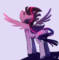 Twilight Sparkle Alicorn by IncoMpleTeSTAR