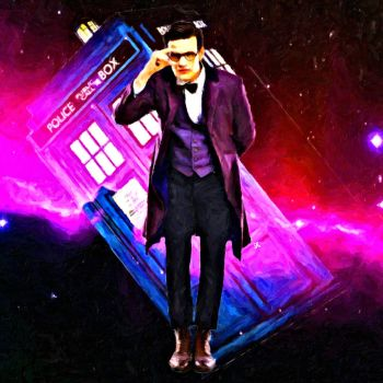 Eleventh Doctor by LowBassGuy