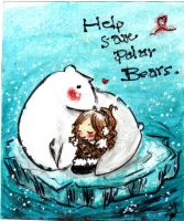 sAvE PoLaR bEaRs by DinoHeart