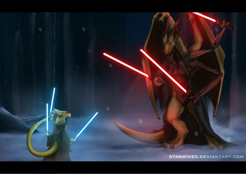 Jedi and Sith by starmixed