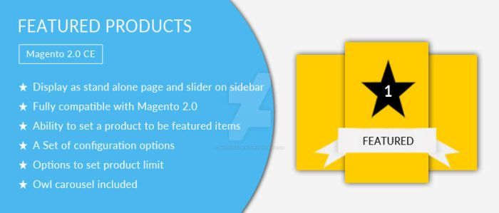Featured Products - Free Magento 2 Extension by AnnaVictoria12