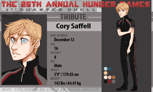 District 8 Tribute: Cory Saffell by ToastyToastie