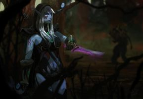 Drow Ranger by FinalKnight6