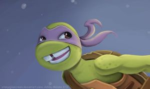Donatello detail by OrangeBlueCream