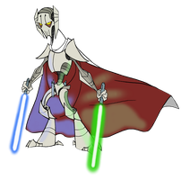 Mini General Grievous by PurpleRAGE9205