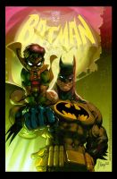 Batman and Robin by JJKirby
