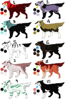 Point Adoptables CLOSED by Roneri
