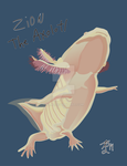Zion the Axolotl by KLM3