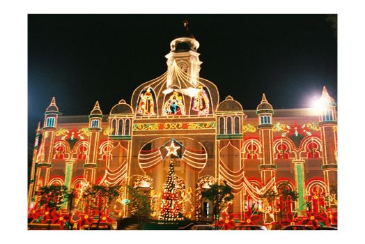 Xmas Mayaguez City Hall by astroboyjrv