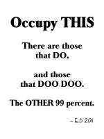 Occupy THIS by BL8antBand