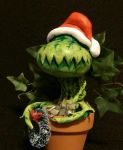CHRISTMAS FLY TRAP by JollyGorilla