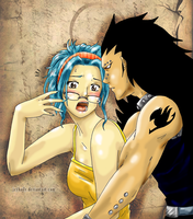 Fairy Tail-Gajeel x Levy by JeyHaily