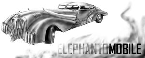 the ELEPHANTOMOBILE by MeckanicalMind