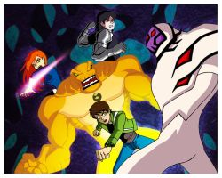 Ben 10 Alien Force by nightshide