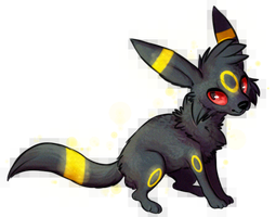 Umbreon Chibi by Wereniss