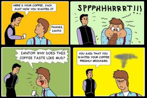 Ianto's bad coffee by AVRICCI
