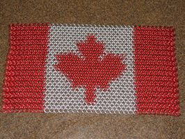 Canadian flag Inlay by Melifacent