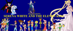 Serena White and the Eleven Kids Teaser Poster by Dragonfire92379